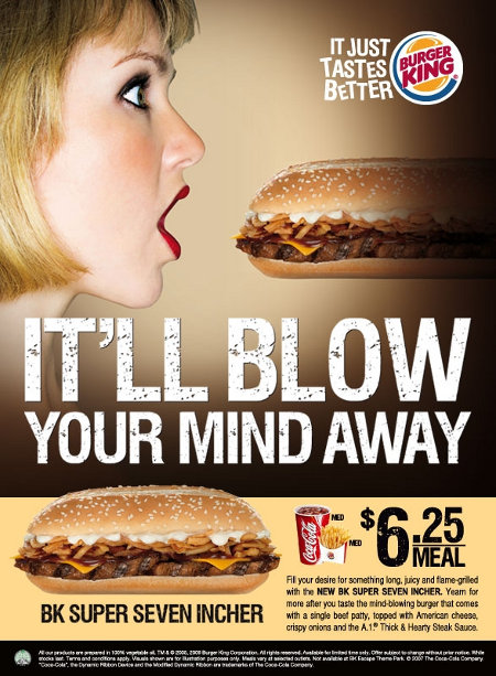 It'll Blow Your Mind Away - Burger King ad